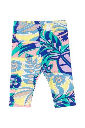 girl multicolored leggings  EMILIO PUCCI JUNIOR | 411469946 | 9P6500J0032780GL