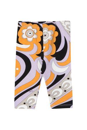 Stretch floral trousers EMILIO PUCCI JUNIOR | 411469946 | 9P6530J0056208LI