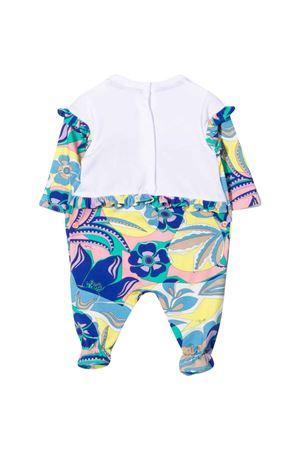 Newborn set with print EMILIO PUCCI JUNIOR | 75988882 | 9P8530J0032780GL