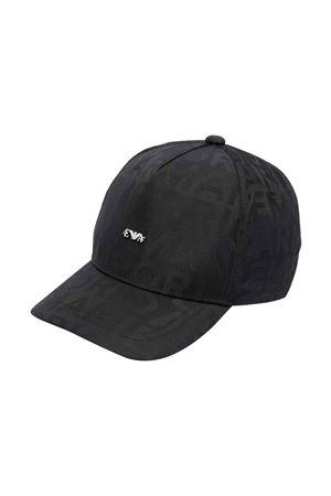 Cappello nero unisex EMPORIO ARMANI KIDS | 75988881 | 4046351A49300020