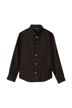 Camicia nera teen EMPORIO ARMANI KIDS | 5032334 | 6K4C091NI5ZF502T