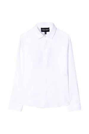Camicia bianca EMPORIO ARMANI KIDS | 5032334 | 6K4CN54N5SZ0100