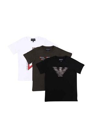 Set t-shirt teen EMPORIO ARMANI KIDS | 75988882 | 6K4DJ34J54Z0999T