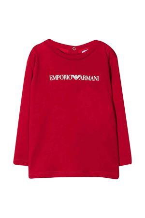 T-shirt rossa unisex EMPORIO ARMANI KIDS | 8 | 8NHTN61JPZZ0343
