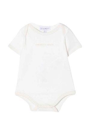 Coppia di body beige neonato EMPORIO ARMANI KIDS | 75988882 | 8NNV33NJ05ZF116
