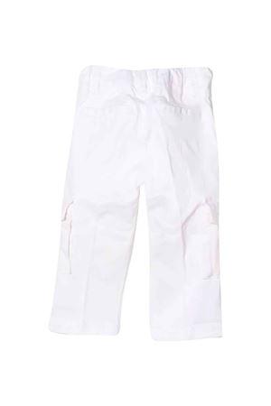 white straight cargo pants FAY KIDS   9   5P6320Z0078101