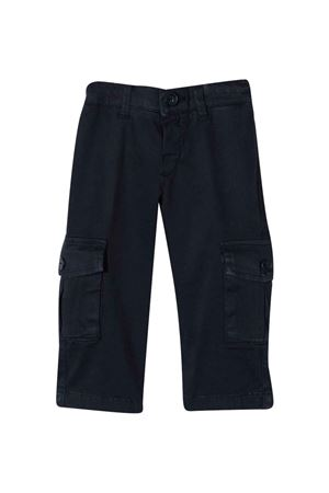 blue straight cargo pants FAY KIDS   9   5P6320Z0078621