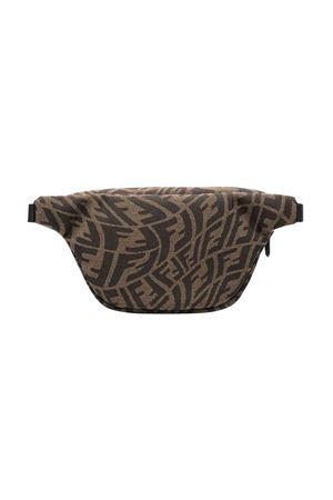 unisex brown belt bag  FENDI KIDS | 5032342 | 7VB011AFUVF0TUE