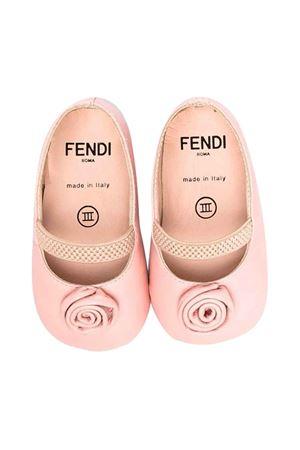 newborn pink ballet flats FENDI KIDS | 12 | BFR094AHG8F1FFK