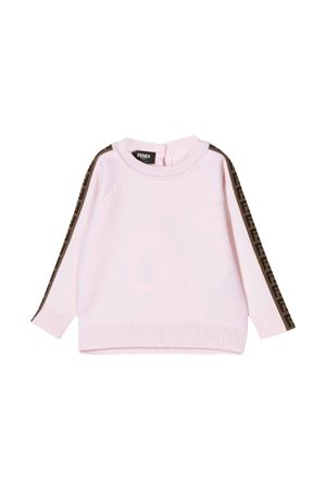 unisex pink shirt  FENDI KIDS | 7 | BUG058A8L9F0BTZ