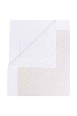 Beige blanket with contrasting details FENDI KIDS | 69164127 | BUJ164AASJF19J5