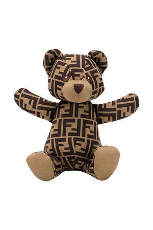Teddy bear with print FENDI KIDS | 1737628459 | BUS001A8RDF15B6