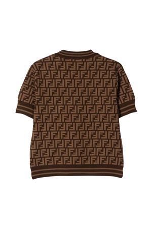 T-shirt in maglia teen FENDI KIDS | 7 | JFG069AEYDF15B6T