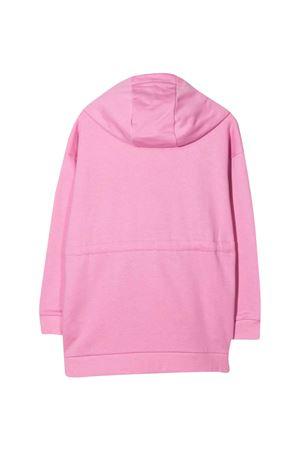 Pink sweatshirt with hood FENDI KIDS | -108764232 | JFH1215V0F0GBE