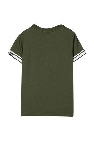T-shirt verde bambino FENDI KIDS   8   JMI3737AJF1E5S