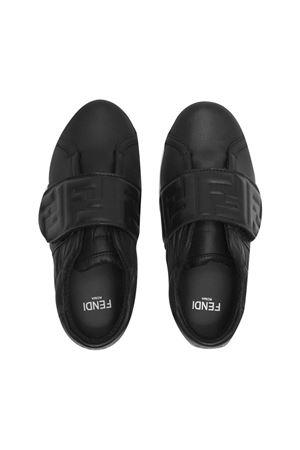 Black shoes FENDI KIDS | 12 | JMR369AGC9F0ABB