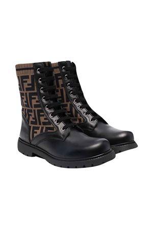 Black boots FENDI KIDS | 12 | JMR382AEGPF0PMM