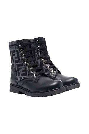 Gray boots  FENDI KIDS | 12 | JMR382AEGPF1D0I