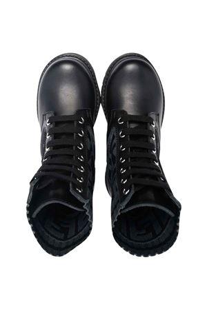 Gray boots  FENDI KIDS | 12 | JMR382AEGPF1D0IT