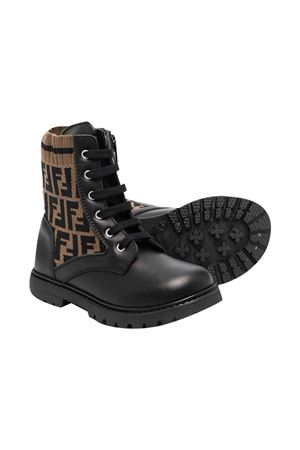 Black boots FENDI KIDS | 12 | JMR383AEGPF0PMM