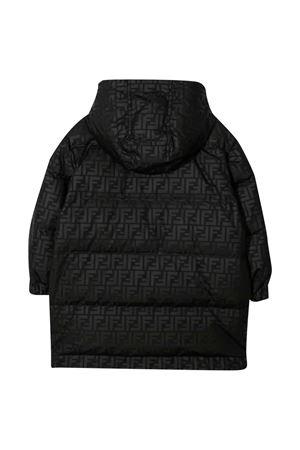 Black lightweight jacket FENDI KIDS | 13 | JUA096AEZMF0GME