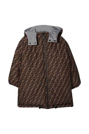 Gray lightweight jacket FENDI KIDS | 13 | JUA109AEZNF0WG5