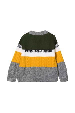 unisex multicolored sweater  FENDI KIDS | 39 | JUG014AG1CF0ZA0