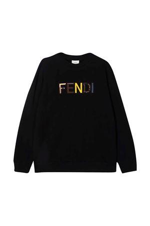 unisex black sweater  FENDI KIDS | -108764232 | JUH029AG18F0GME