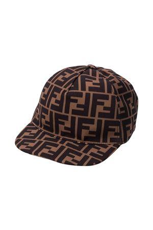 Fendi kids brown hat  FENDI KIDS | 75988881 | JUP004AAPVF15B6