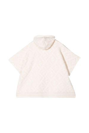 unisex cream poncho FENDI KIDS | 2136617259 | JUQ013AFOVF0QG1