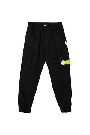 Pantalone vargo nero teen GCDS KIDS | 9 | 028449110T