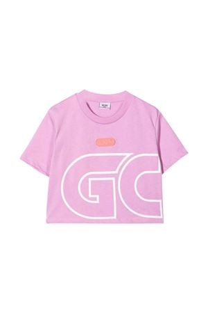 Lilac T-shirt  GCDS KIDS | 8 | 028669071