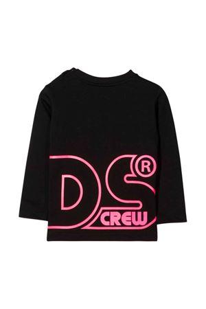 unisex black t-shirt  GCDS KIDS | 8 | 028775110/02