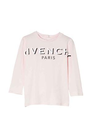 T-shirt rosa neonata Givenchy Kids | 8 | H0517645S