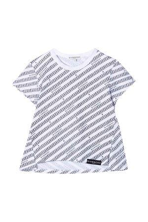 T-shirt bianca bambina Givenchy Kids | 8 | H1522010B