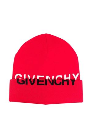 Cappello rosso unisex Givenchy Kids | 75988881 | H21047991