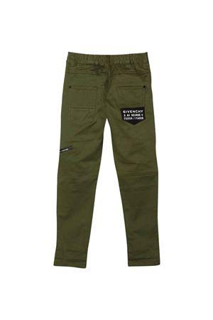 Pantaloni verde kaki bambino Givenchy Kids   9   H2413064K