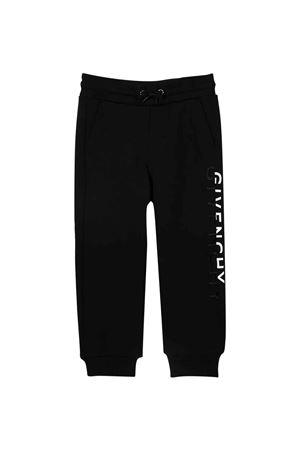 Jogger pants neri bambino Givenchy Kids | 9 | H2413309B