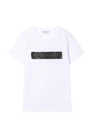 T-shirt bianca unisex Givenchy Kids | 8 | H2528310B