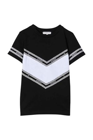 T-shirt nera unisex Givenchy Kids   8   H2528709B