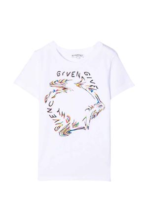 T-shirt bianca unisex Givenchy Kids | 8 | H2529210B