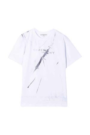 T-shirt bianca unisex Givenchy Kids | 8 | H2530110B