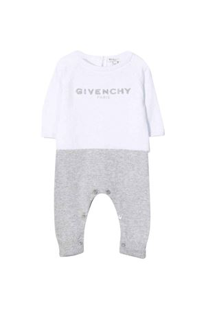 Pagliaccetto bianco/grigio unisex Givenchy Kids | -1617276553 | H94057N00