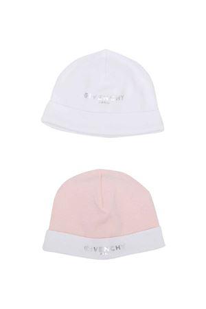 Coppia di berretti neonato Givenchy Kids   75988882   H9811345S
