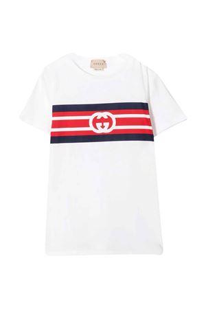 white t-shirt  GUCCI KIDS | 8 | 561651XJDKV9074