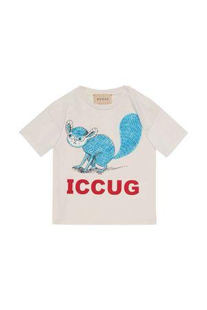 T-shirt bianca neonato GUCCI KIDS | 8 | 576871XJDKZ9247