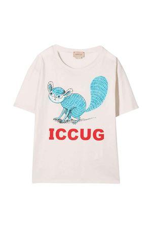 T-shirt bianca bambino GUCCI KIDS | 8 | 586167XJDKZ9247