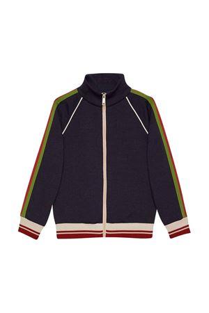 Blue jacket with zip GUCCI KIDS | 3 | 658120XJDMW4340