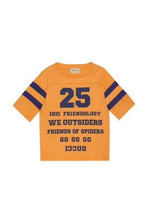 T-shirt arancione neonato GUCCI KIDS | 8 | 661143XJDKW7477