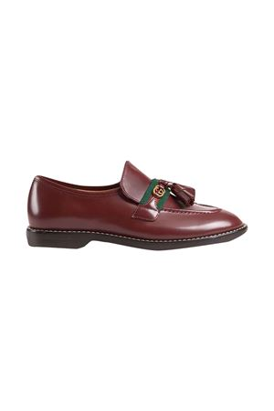 Brown loafers unisex   GUCCI KIDS | 921336138 | 6621901PKE06161